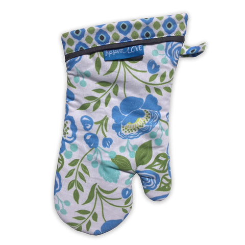 """Bloom"" Oven Mitt"