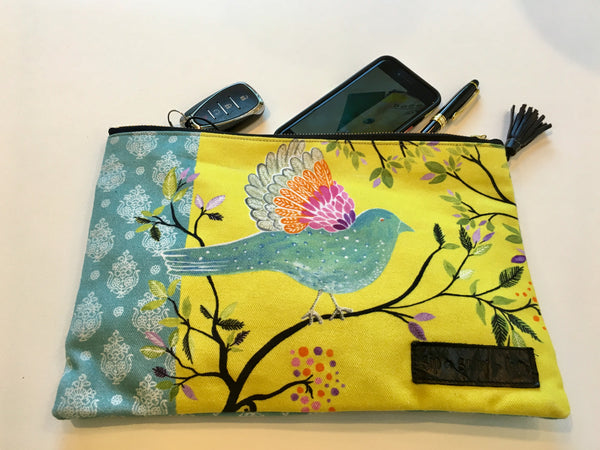 """Loving Life"" Clutch Bag"