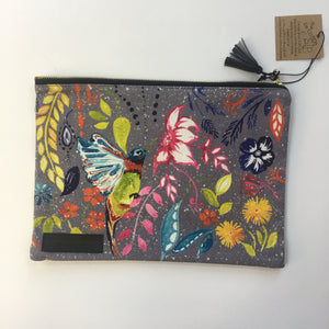 """Happy Hummingbird"" Clutch Bag"