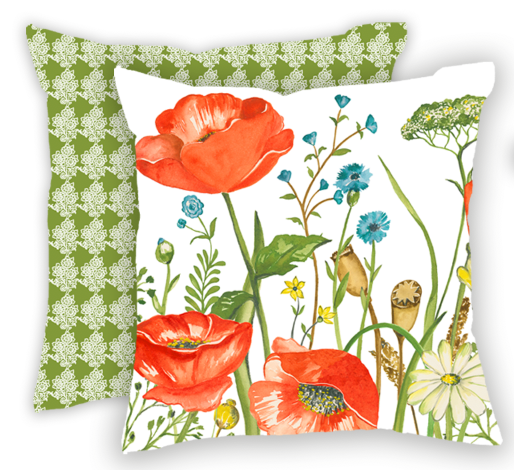"""Nature's Dance"" Pillow Cover"