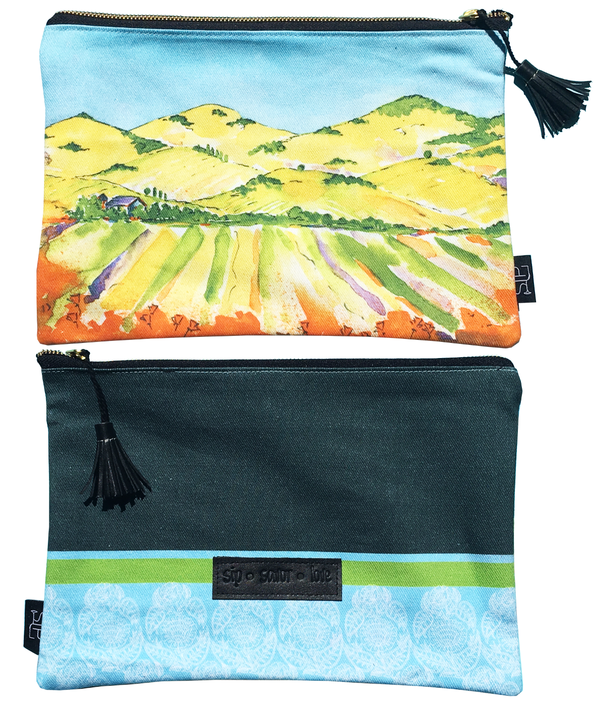 28b The Hills Are Alive - Clutch Bag
