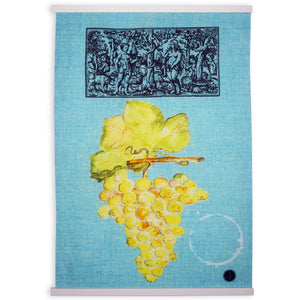 """Wine Series Blue"" Kitchen Towel"