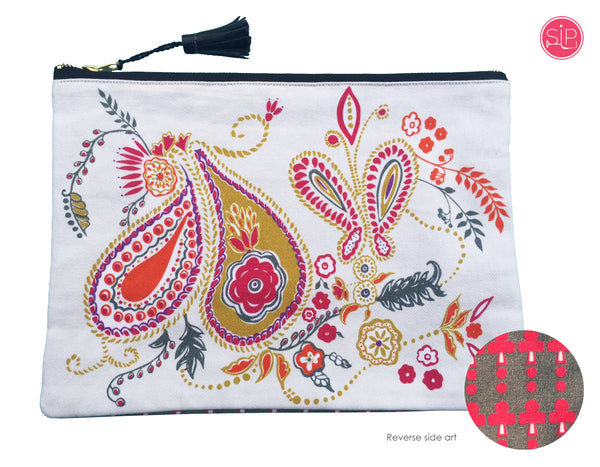 """Carnaby"" Clutch Bag"