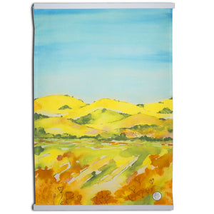 """California Hills"" Kitchen Towel"