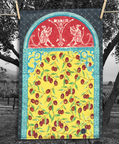 10 Olive Grove 2- Kitchen Towel