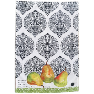 """Ode to Pears"" Kitchen Towel"