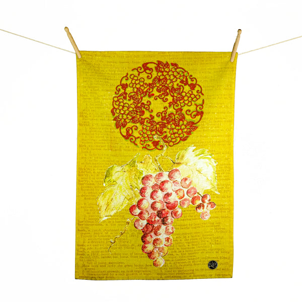 04 Series Yellow - Kitchen Towel