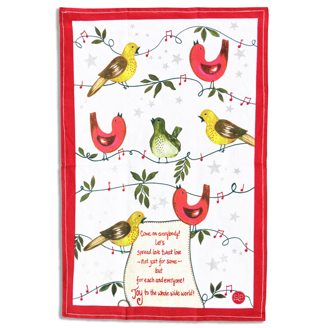 """Sing for Joy"" Kitchen Towel"
