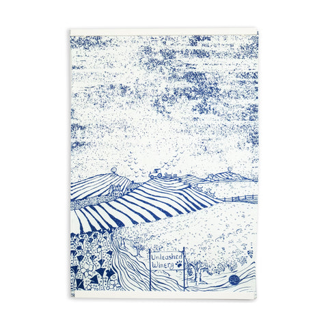 """Vineyard Dogs"" Kitchen Towel"