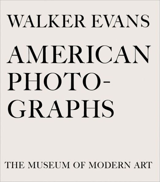 American Photographs / Walker Evans