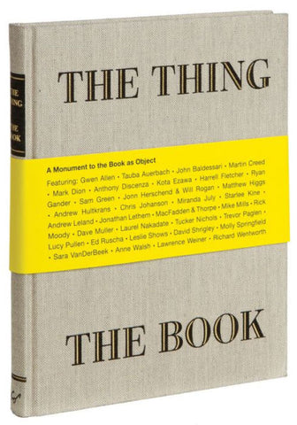 THE THING, THE BOOK /  Jonn Herschend and Will Rogan