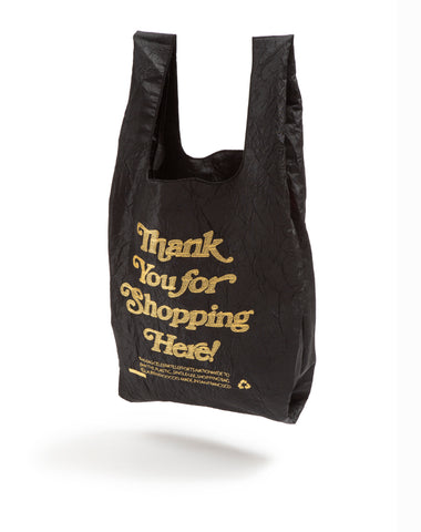 THANK YOU / Thank You For Shopping Here (Black + Gold)
