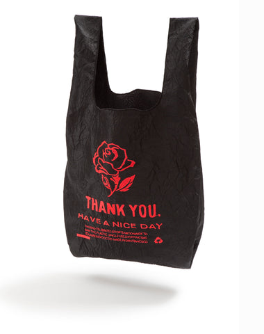 BLACK + PINK ROSE Tote