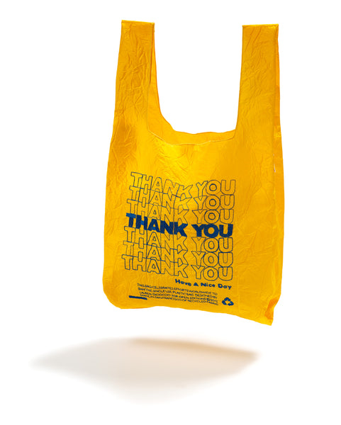 Yellow + Blue THANK YOU Tote