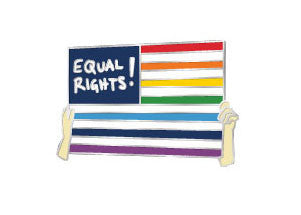 RESIST PIN / Equal Rights!