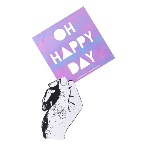 Gabriel Stromberg / OH HAPPY DAY Neon Greeting