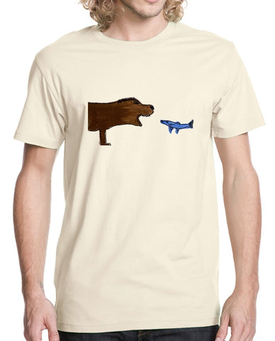 James Miles/ Bear and Fish Tee