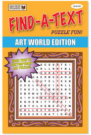 Charles Gute / Find-a-Text Puzzle Fun! Artworld Edition