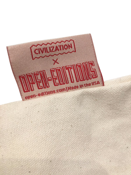 Civilization / Big Canvas Tote