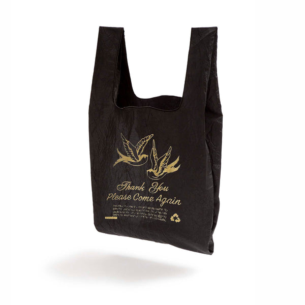 BLACK + GOLD SPARROW TOTE