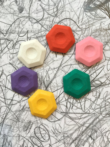 Koh-i-noor Hexagon Erasers