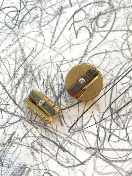 M+R Brass Pencil Sharpeners