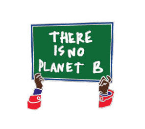 RESIST PIN / There is No Planet B