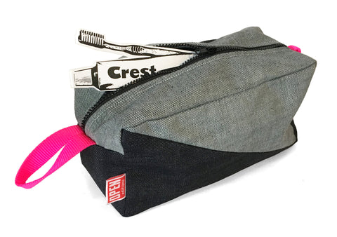 Salvaged Selvedge Dopp Kit