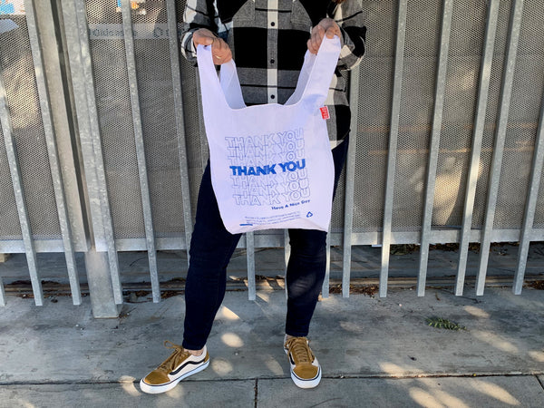 THANK YOU THANK YOU Tote / Blue