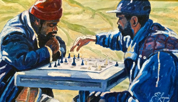 Checkmate - 12 x 20  SOLD