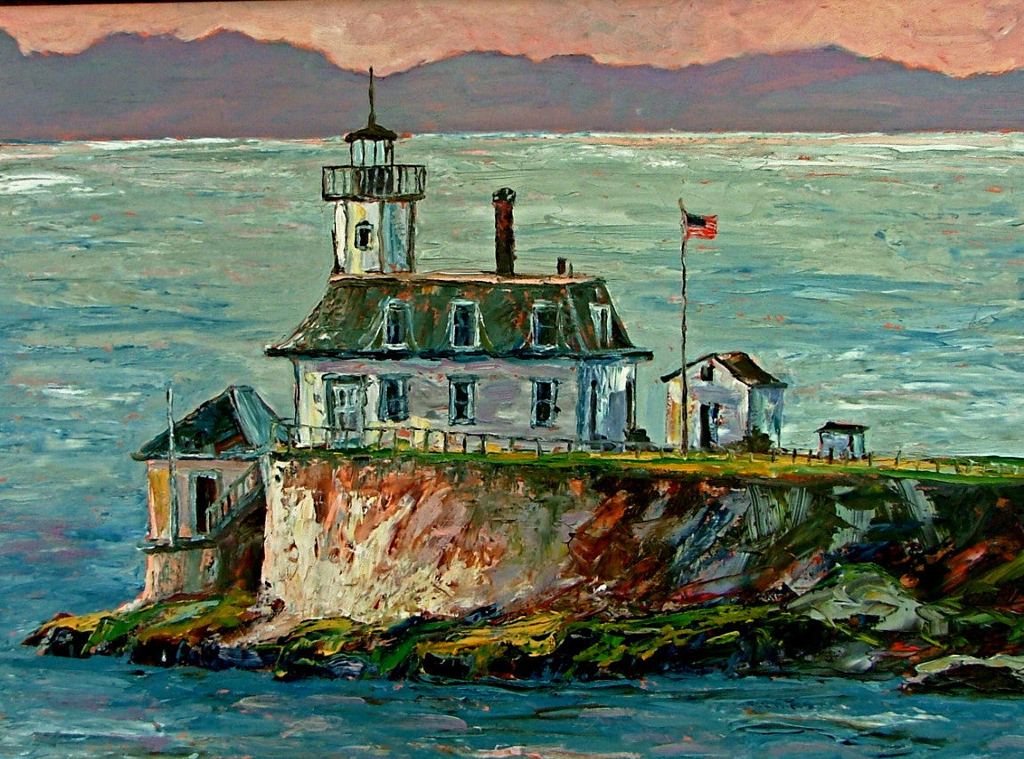 "Nova Scotia Lighthouse  24x36""   850.00"
