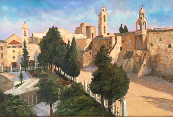 "The Church of the Nativity . 24x36"" . 850."