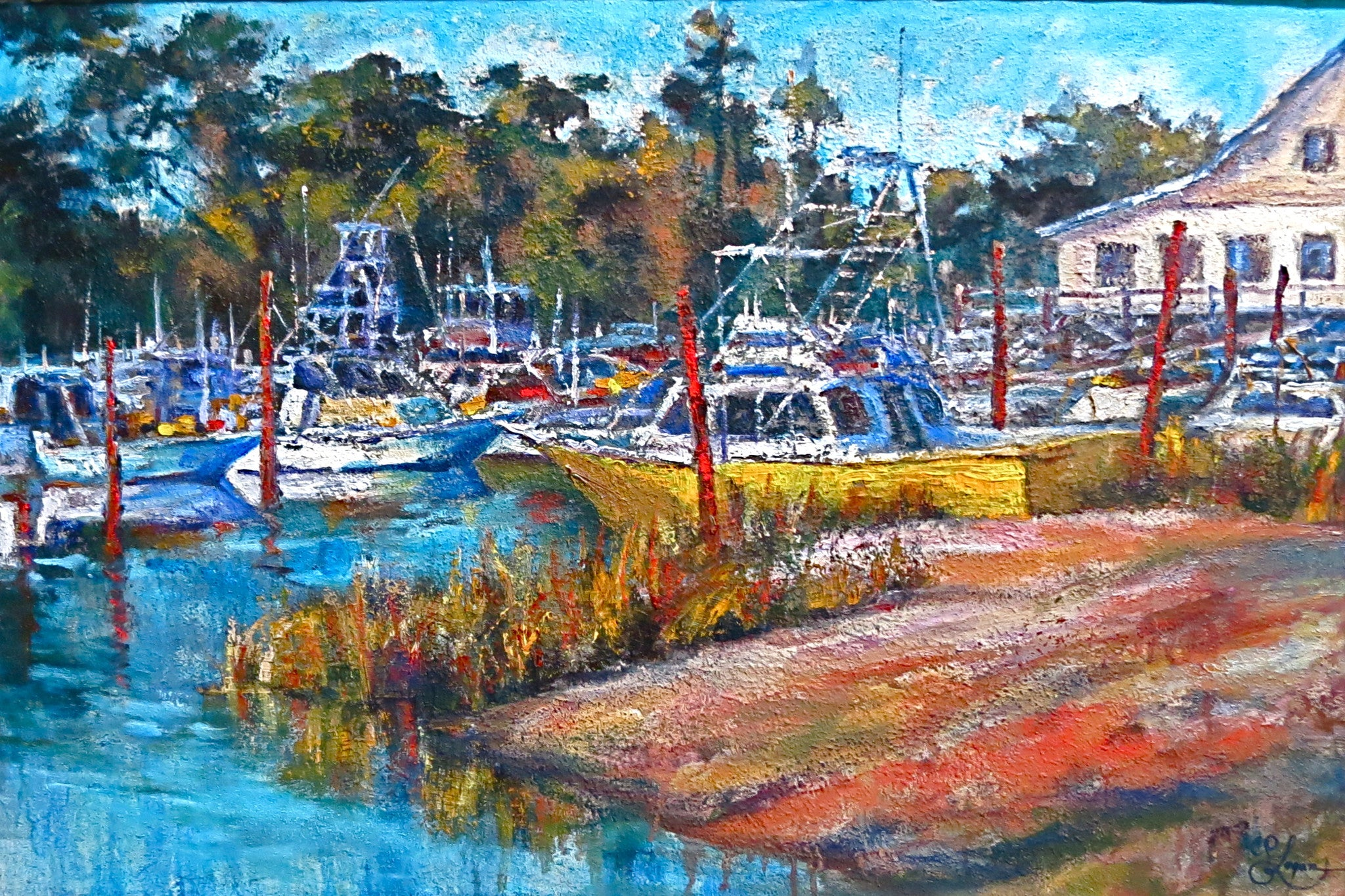 "Merle's Inlet  24x36""   850.00 SOLD"