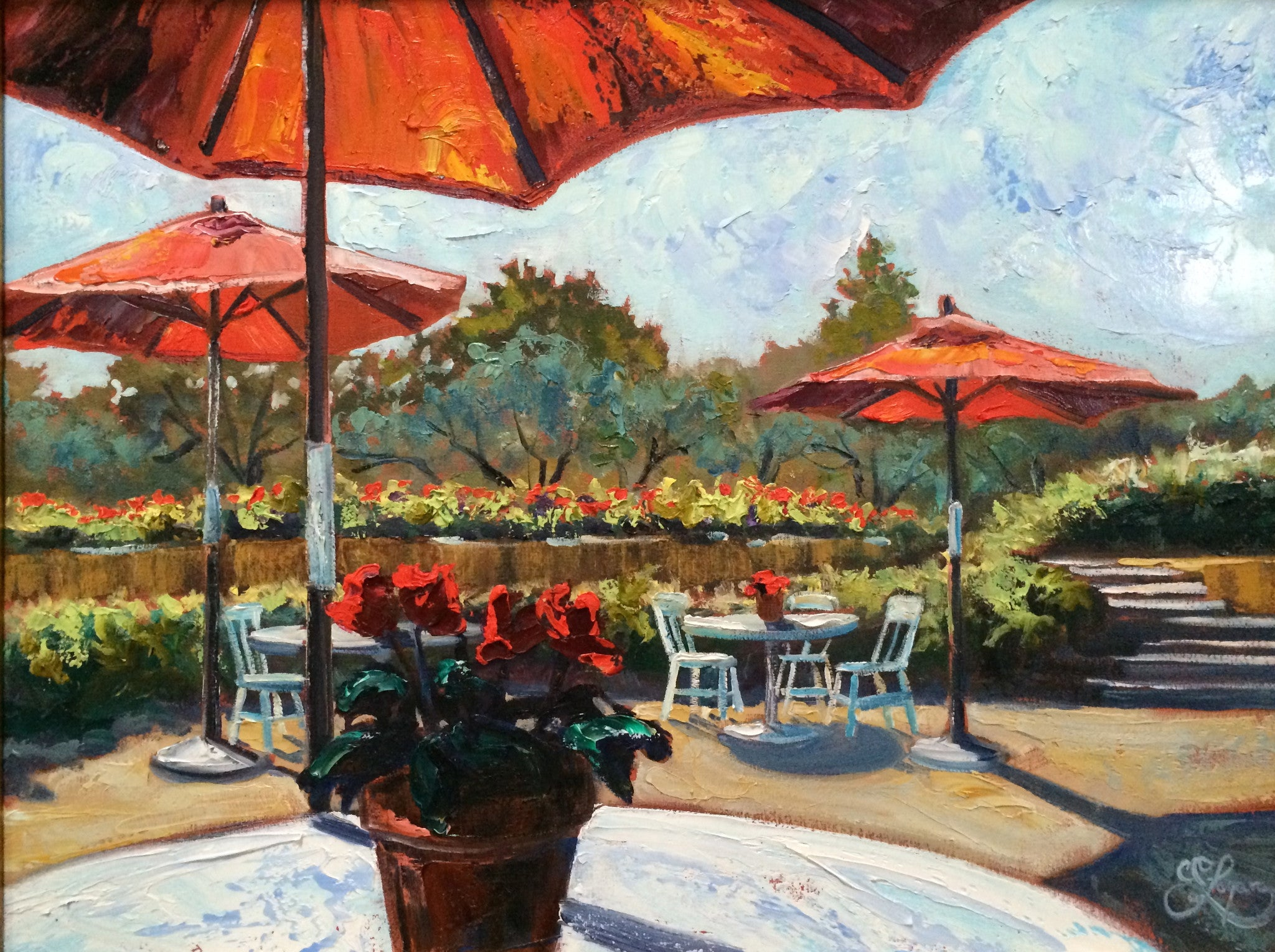 "At the Winery  18x24""  700.00"
