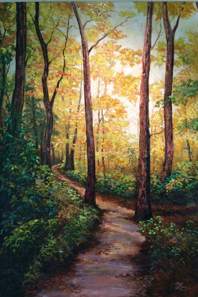 APPALACHIAN PATH 42X60 SOLD