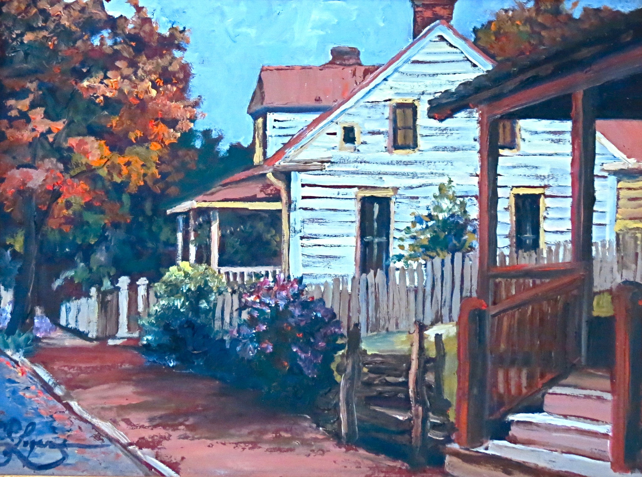 Old Salem II - 9 x 12  350.00