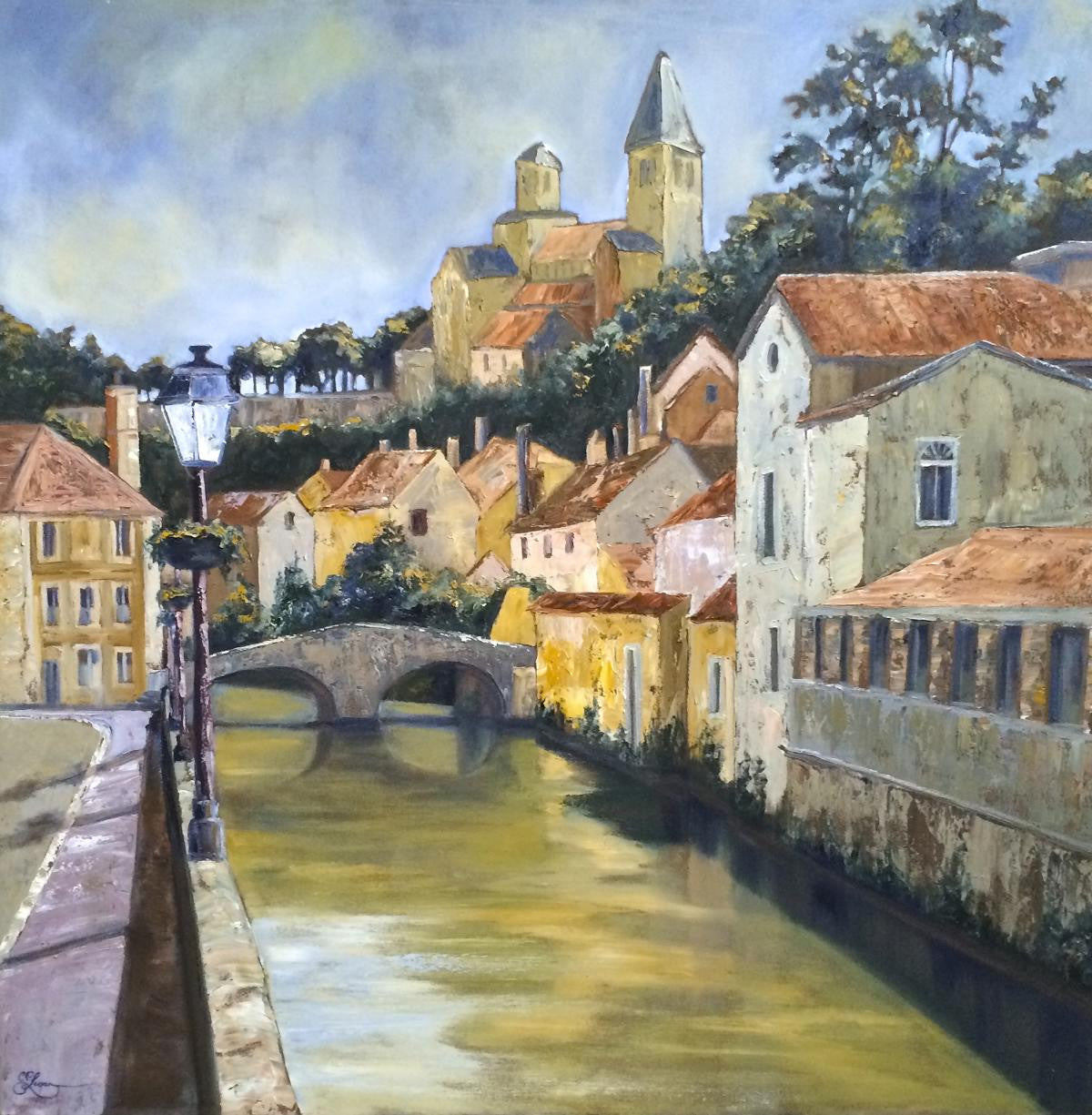 On the Seine - 48 x 48   1600.00 SOLD