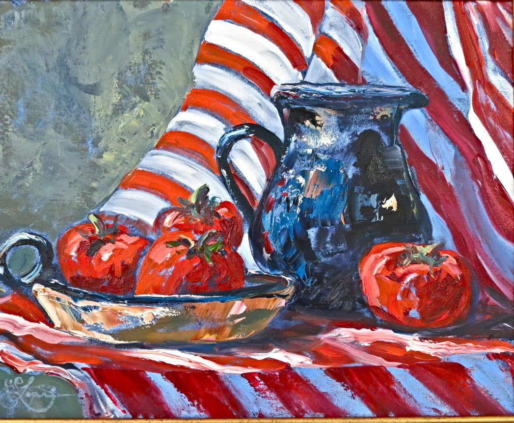 Red Stripes - 16 x 20   450. SOLD