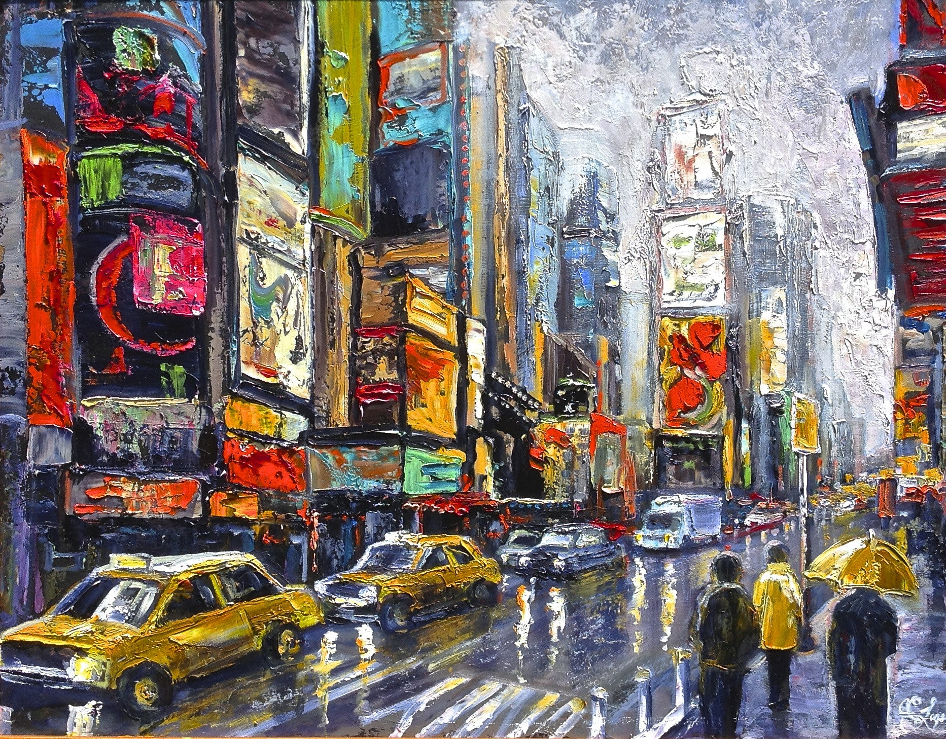Time Square - 22 x 28  800.00