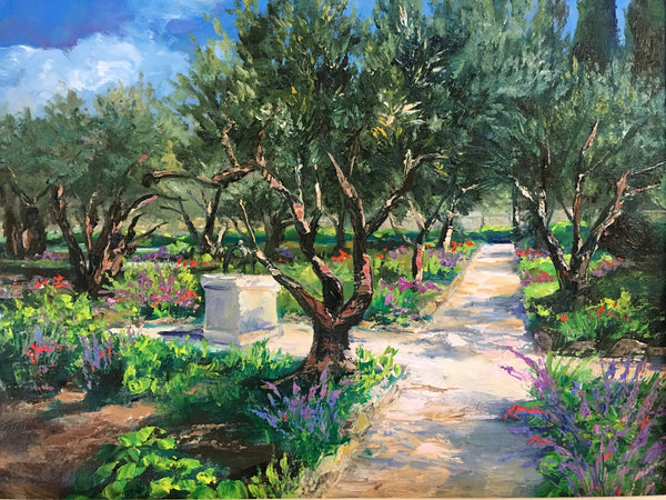 "Garden of Gethsemane . 16x20"" . 450. SOLD"