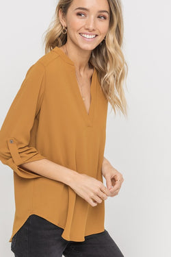 Airy Blouse - Spice