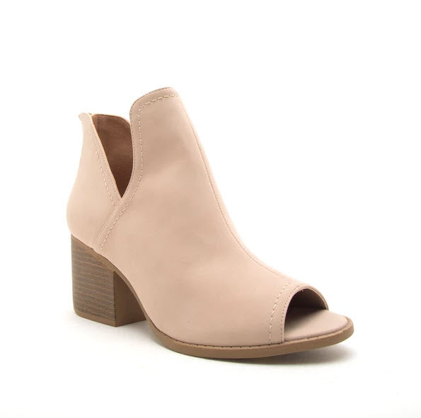 Core Booties - Taupe