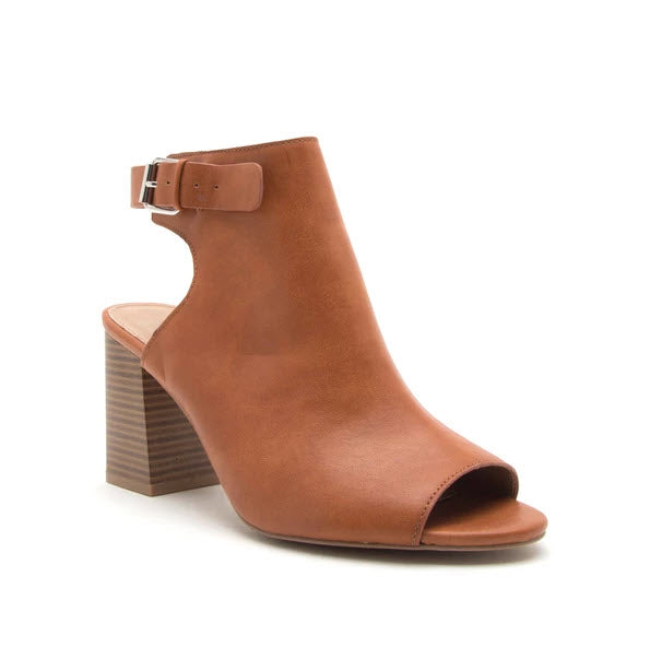 Haira Booties - Rust