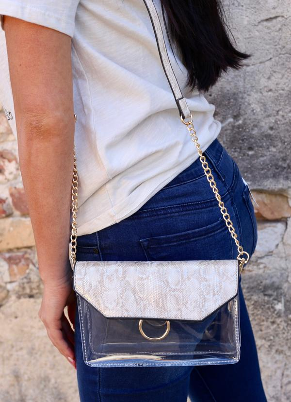Tailgate Clear Crossbody