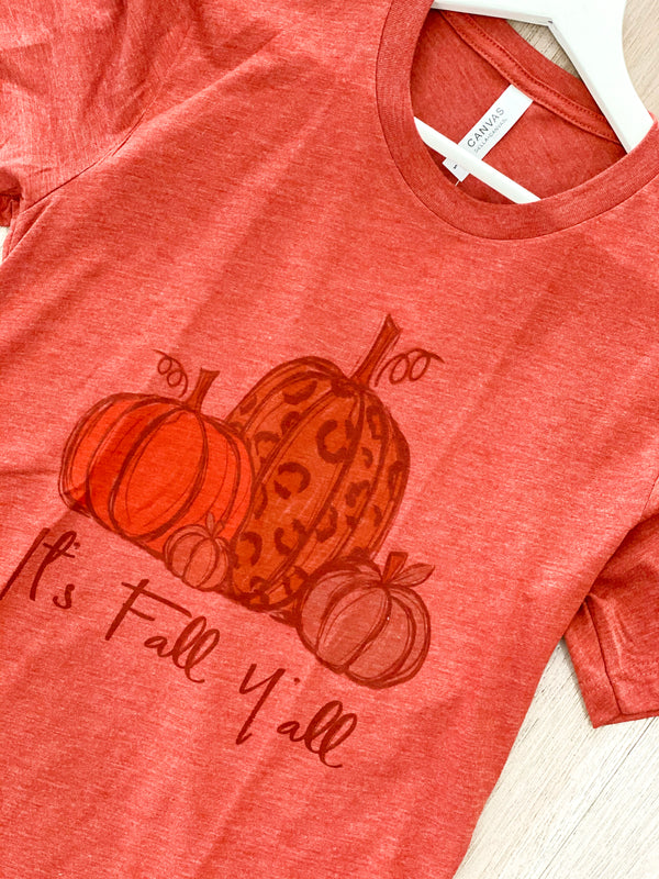 It's Fall Y'all' Tee