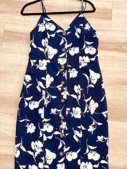 Bayview Dress - Navy