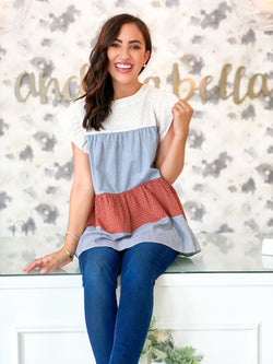Ruffled Baby Top