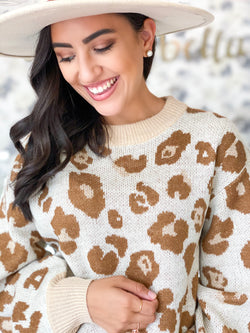 Lovely Leo Sweater- Ivory