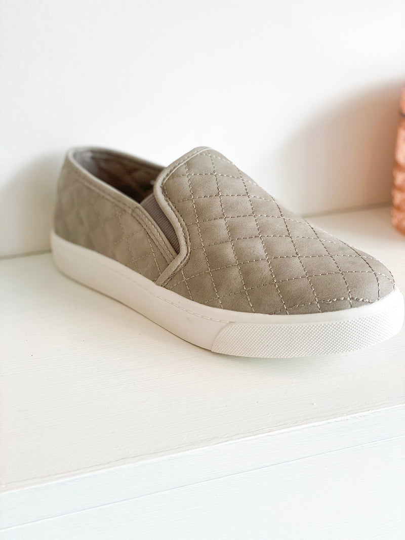 Alone Padded Sneakers - Grey