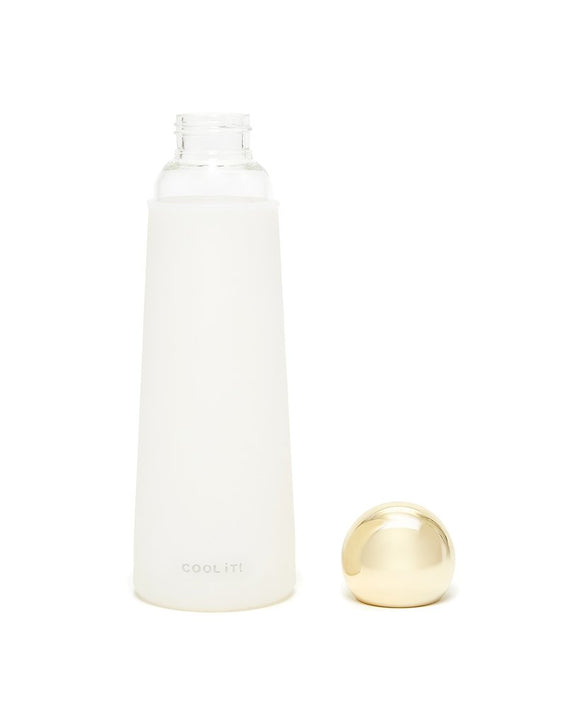 Glass WB - White/Gold - Anchora Bella Boutique